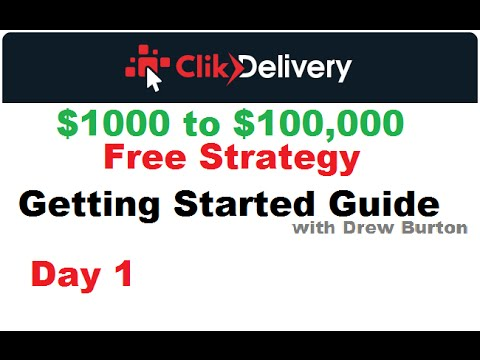 ClikDelivery strategy 2016 Day 1 Click Delivery review with Drew Burton
