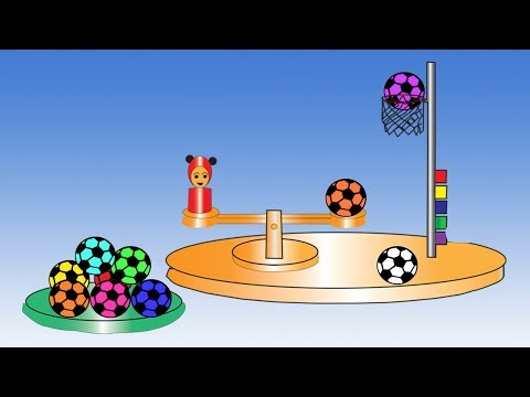 Learn Colors With Balls For Children || Balls Colors Video For Kids thumbnail