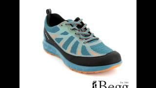 ECCO Terratrail 803504-59427 Petrol blue trainers
