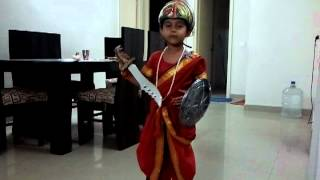 Jhansi Ki Rani Fancy dress.mp4