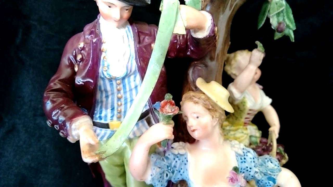 dresden figurines identification