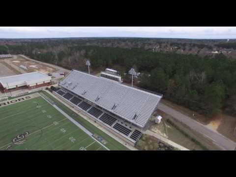Oak Grove High School - From Above!