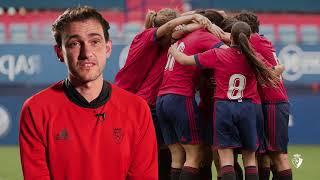 """Mikel Bakaikoa: """"El objetivo más importante tiene que ser afianzar el fútbol femenino en Osasuna"""""""