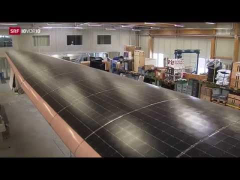 Solar Impulse im TV 10vor10 (deutsch)