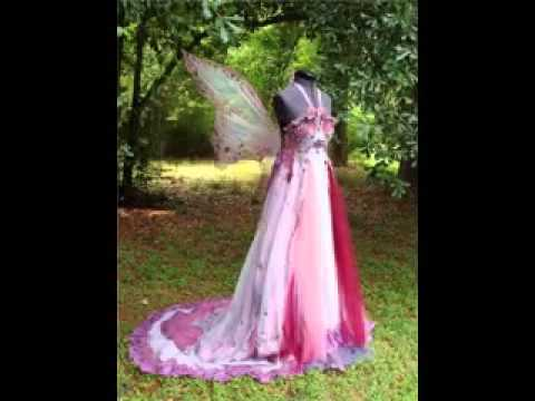 The most unique wedding dresses in the world - YouTube