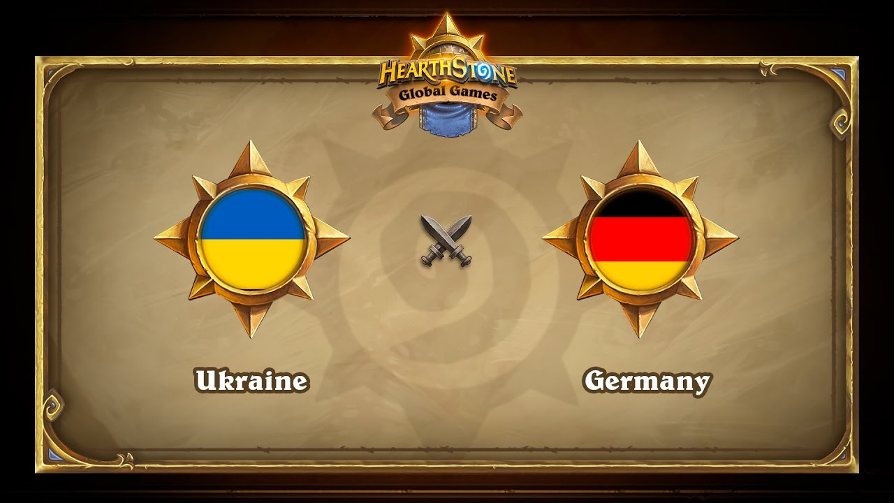 Ukraine vs Germany, Hearthstone Global Games Group Stage