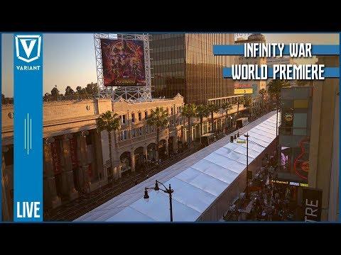 Variant LIVE! Avengers Infinity War World Premiere