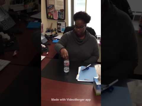 Water bottle challenge CSUSB advisors