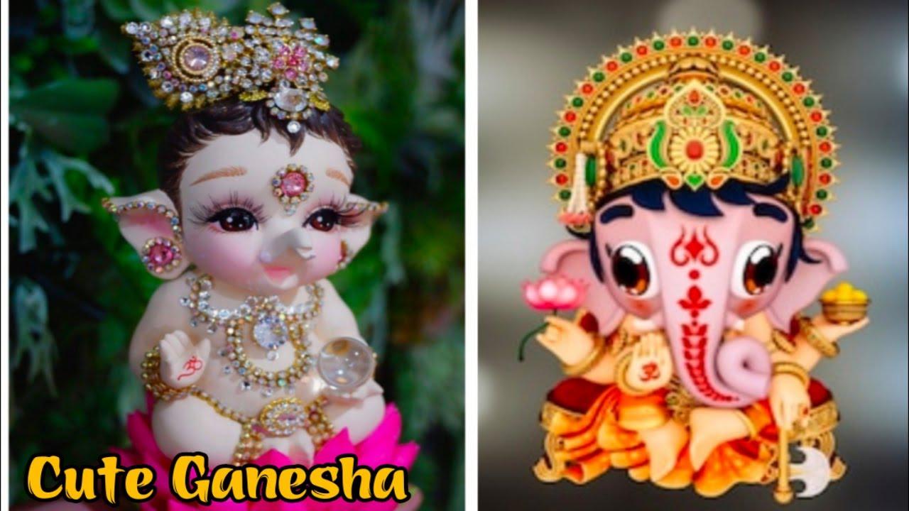 Cute Ganesha Happy Ganesh Chaturthi Ganesh Chaturthi Status Ganpati Bappa Whatsapp Status Youtube