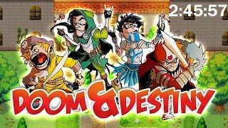 Doom & Destiny chillax any% speedrun 2:45:57 [Android / Touchscreen]
