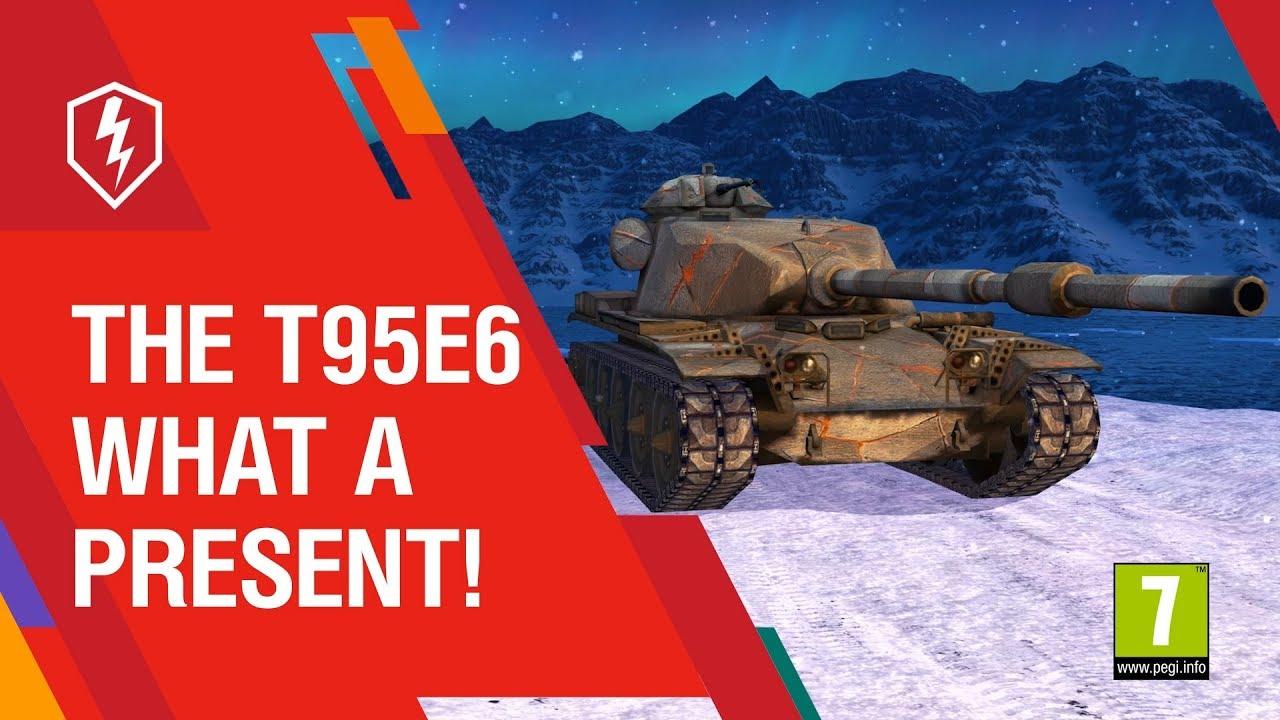 Как получить t95e6 продажа танка скорпион