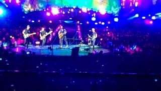Coldplay - Miracles (Someone Special) - First Time Ever Live Milan June 2017