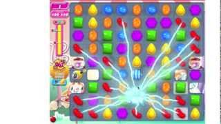 Candy Crush Saga Level 350 ★★★ no boosters (TUTORIAL). Color Bomb festival