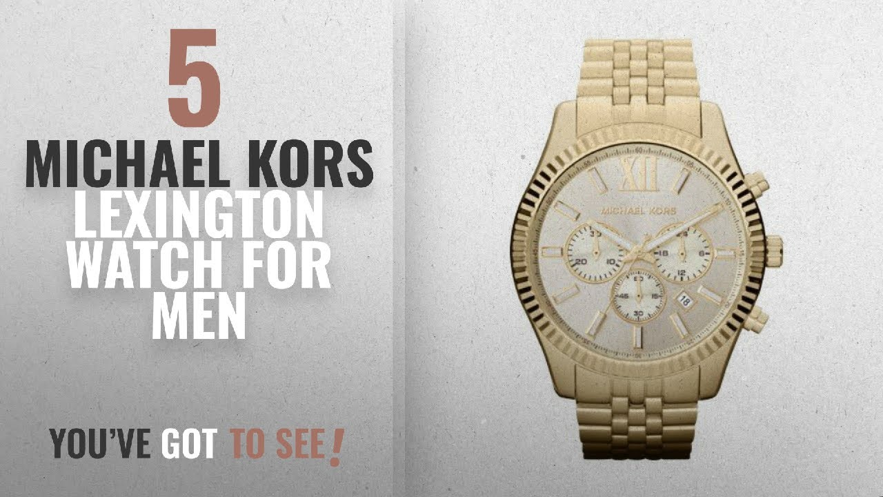d2ec60fe07d3 Top 10 Michael Kors Lexington Watch  2018   ...