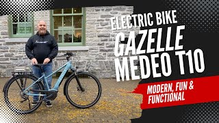 Gazelle Medeo T10 - Honest Review - Hybrid Electric Bicycles