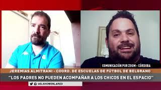 Belgrano   Jeremias Almitrani de las escuelitas de fútbol en El Show En La Red 17 09 2020