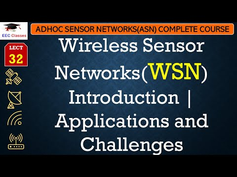 Wireless Sensor Network(WSN) Introduction | Applications And Challenges
