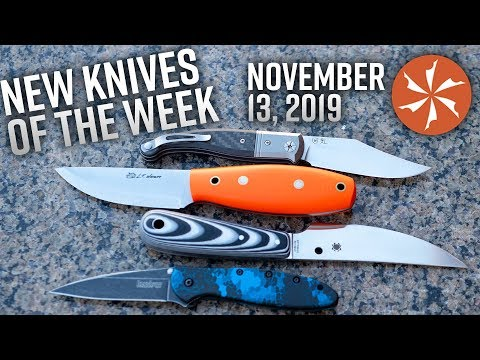New Knives For The Week Of November 13th Just In At KnifeCenter.com