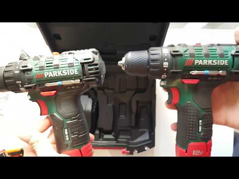 Parkside Cordless Drill Pabs 12 B3 Vs Pabs 12 B2 Comparison