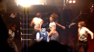 Adam Lambert - Meeting the band+dancers, If I Had You (Palais Theatre, Melbourne, 19th October 2010)