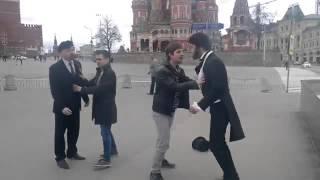 Пушкин и Ленин подрались на Красной площади из за клиента