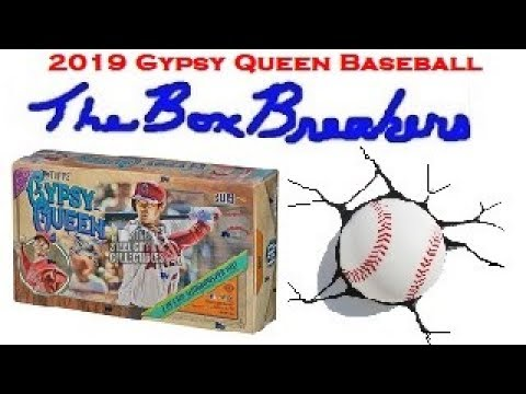 Brand NEW! 2019 Topps Gypsy Queen Baseball Hobby Box Opening Packs of Cards at our LCS