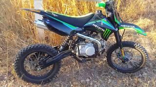 PIT BIKE /Dirt bike Sx-140cc yx monster Grandes roues