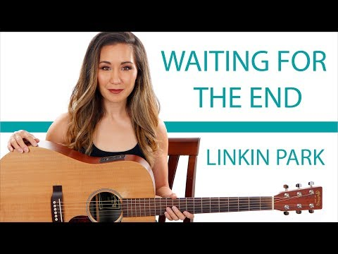 Waiting for the End - Linkin Park Guitar Tutorial with Play Along