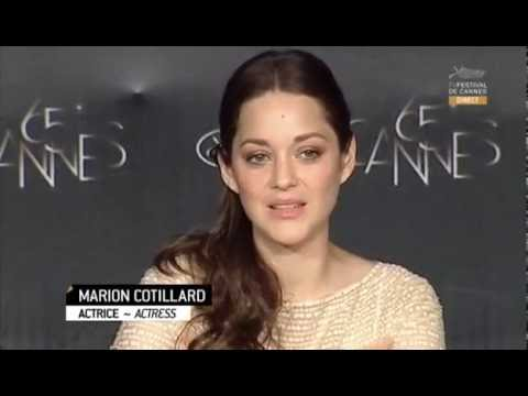 Cannes 2012: Full Press Conference for Rust and Bone (Marion Cotillard, Matthias Schoenaerts)