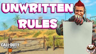 Top 10 Unwritten Rules of CoD BO4