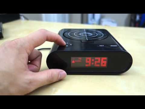 Gun Target Alarm Clock Review You