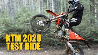 KTM 2020 exc 500 450 250 - Test ride