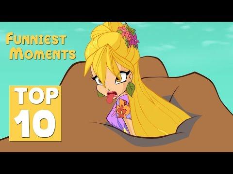 Winx Club - Stella TOP 10 funniest moments (Season 7)!