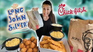 Download Letting The Person In Front of Us Decide What We Eat for 24 Hours | Drive Thru Challenge Mp3 and Videos