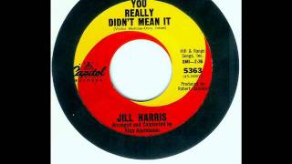 Jill Harris - YOU REALLY DIDN