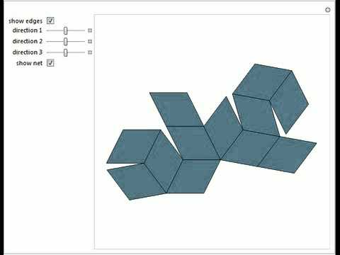 Space Filling with a Rhombic Dodecahedron of the Second Kind