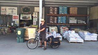 Can A Yuba Mundo Cargo Bike Carry 100 lbs of Chicken Feed + a 7 Year Old Boy?