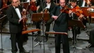 W.A. Mozart - Sinfonia Concertante-Andante / Igor Oistrakh and Valery Oistrakh (part I)