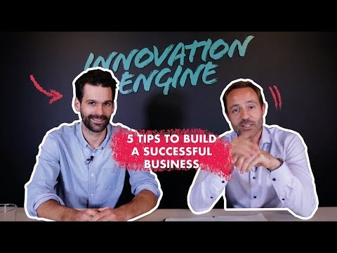 5 tips to build a successful business - The Sales Acceleration Show with Bundl