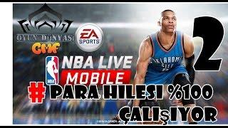 NBA LİVE : Para Hilesi uygulamalı 2 [ %100 denendi ] HD*