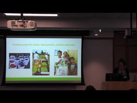 Christine Hadekel: 'Seed to Supper' program: Reaching underserved audiences through garden education