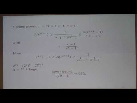 Alp Bassa / Rational points on curves over finite fields and