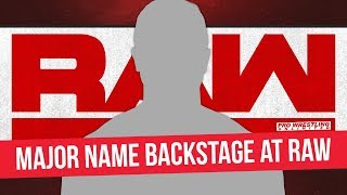 Possible Spoiler As Major Names Reportedly Backstage At RAW