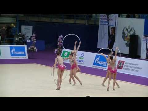 Group of Bulgaria  5 hoops  Q  Grand Prix Moscow 2017