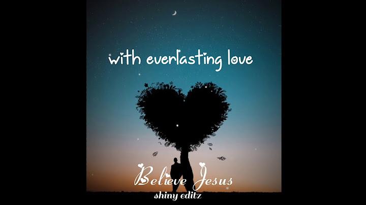 jesus loves me with everlasting love  nithya snegathal ennai nesithuchristian song in tamil