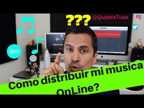 Como distribuir tu musica por internet | Como subir mi musica a las radio y tiendas online?