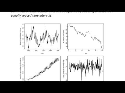 Review Time Series Analysis