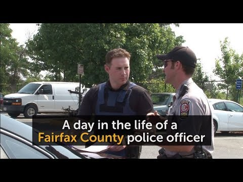 A day in the life of a Fairfax County police officer