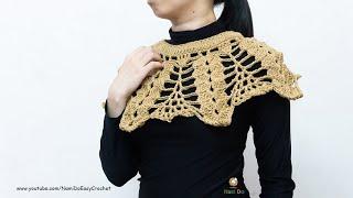 Easy Crochet: Crochet Capelet #04