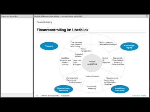 Webinar: Finanzcontrolling